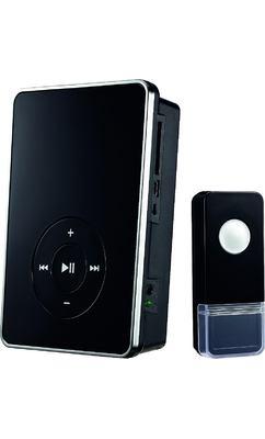 Звонок DBQ09M WL MP3 16M, цвет: Черный