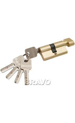 Цилиндр ключ/фиксатор 60-30/30