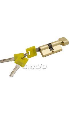 Цилиндр ключ/фиксатор Bravo ZF-60-30/30