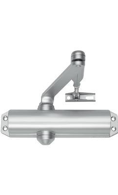 Дверной доводчик с функцией фиксации двери в открытом положении Abloy DC120-1 с рычажной тягой в комплекте
