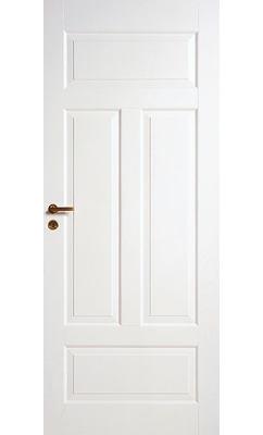 Межкомнатная дверь четырехфиленчатая облегченной конструкции для ванной комнаты