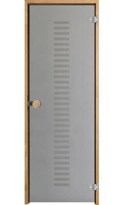 Дверь для сауны с круглой ручкой Purity Vertico JELD-WEN