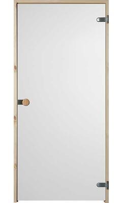 Дверь для сауны с круглой ручкой Satiini JELD-WEN