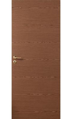 Дверь массивная гладкая Stable 401 шпонированная