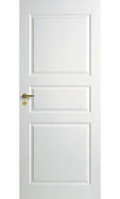 Межкомнатная дверь межкомнатная белая трехфиленчатая глухая JELD-WEN N1