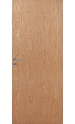 Межкомнатная дверь шпонированная гладкая JELD-Wen