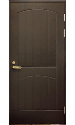 Входная дверь JELD-WEN F2000 коричневая