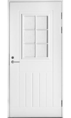 Входная дверь Jeld-Wen Function F1848 W71 со стеклом Cotswold, фрезерованной внешней стороной