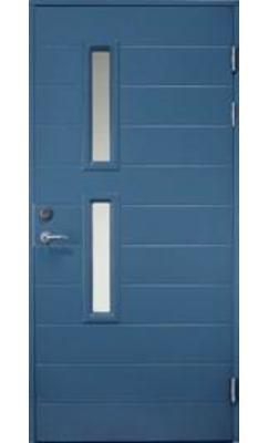 Входная дверь Jeld-Wen Function F1893 W95 с фрезерованной внешней стороной