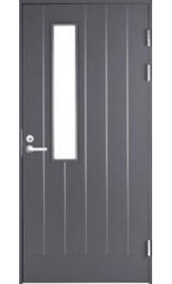 Входная дверь Jeld-Wen Function F1894 W22 со стеклом Costwold с фрезерованной внешней стороной