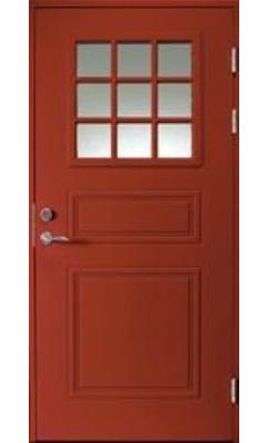 Входная дверь Jeld-Wen Classic C1850 W72 со стеклом Cotswold, рисунок с обеих сторон