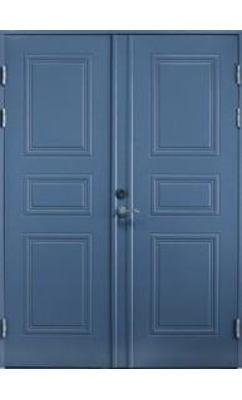 Входная дверь Jeld-Wen Classic C1850, рисунок с обеих сторон, двусхтворчатая