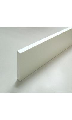 Наличник 12х100х2200 белый прямой, для входных дверей