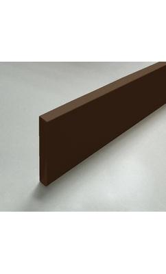 Наличник 12х100х2200 коричневый прямой, для входных дверей