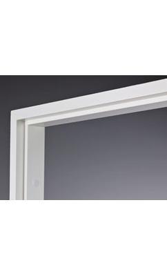 Коробка массив сосны окрашенная белая, для двупольных дверей