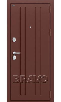 Входная дверь Р2-201 Темная Вишня