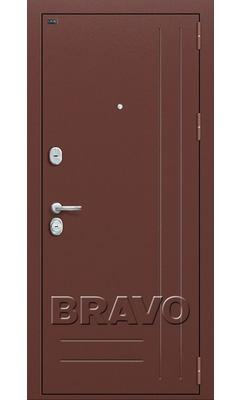 Входная дверь Р2-200 П-1 (Темный Орех)
