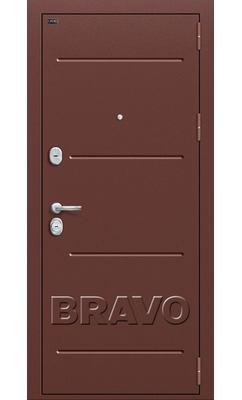 Входная дверь Р2-204 П-28 (Темная Вишня)
