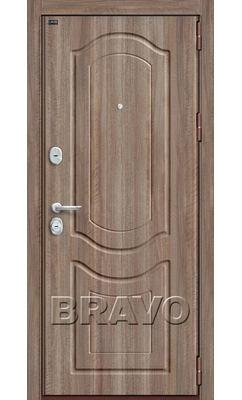 Входная дверь Р3-300 П-1 (Темный Орех)