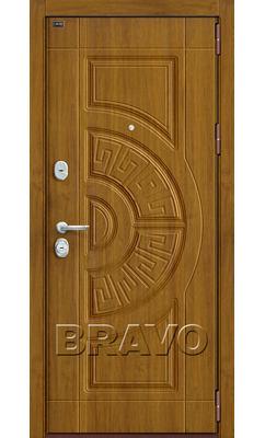 Входная дверь Р3-302 П-4 (Золотой Дуб)