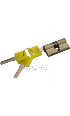 Цилиндр ключ/ключ  Bravo ZK-60-30/30