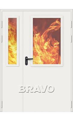 Противопожарная дверь ДПО-1,5.2 (2.2)
