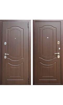 Входная дверь Зетта Евро 3 Б2(г. Воронеж) темный орех