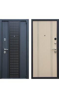 Входная дверь Модерн К-13 беленый дуб