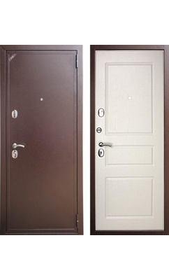Входная дверь Zetta ЕВРО 2 Б2 Эмаль белая