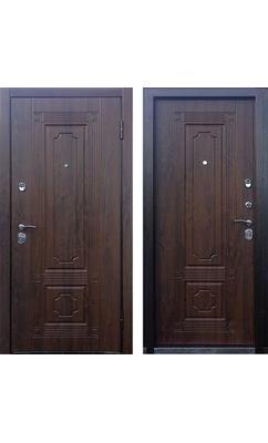Дверь входная ТЕХНО 3 грецкий орех