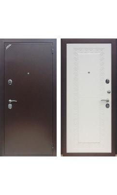 Входная дверь Зетта Евро 2 Б2 ЛАБИРИНТ белая