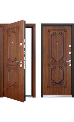Cтальная дверь Мастино ЛАЦИО Дуб медовый патина