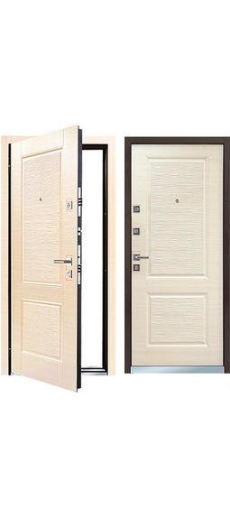 Cтальная дверь МОNТЕ Светлый венге