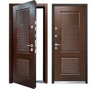 Cтальная дверь Мастино MONTE Темный венге
