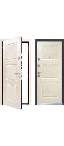 Cтальная дверь Мастино MONTE Светлый венге