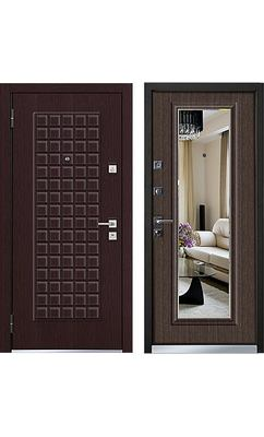 Cтальная дверь Mastino - модель Marke Венге / Каштан темный
