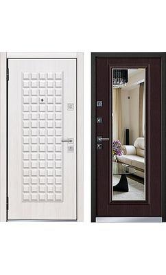 Cтальная дверь Mastino - модель Marke Шамбори светлый / Венге