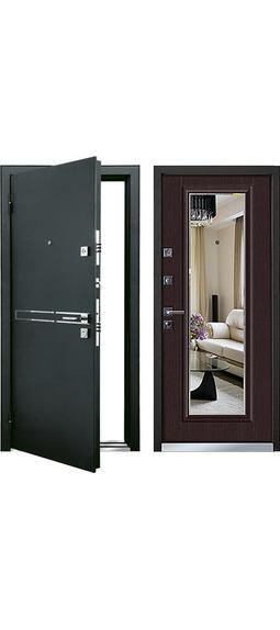 Cтальная дверь Мастино CIELO Венге (быв. Парко)