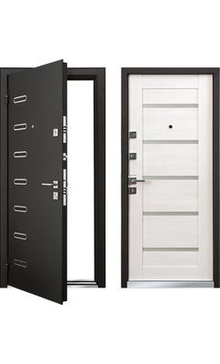 Cтальная дверь Мастино TERRA Шамбори светлый (быв. ПОНТЕ)