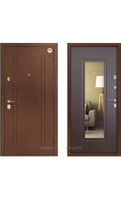 Входная металлическая дверь Бульдорс -14Т венге