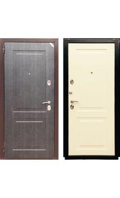 Входная дверь Зетта Евро 3 Б2 черное серебро / перламутр