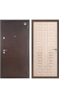 Входная металлическая дверь Бульдорс -13 new шамбори светлый А-3