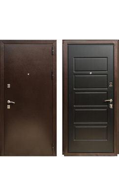 Входная дверь ОПТИМА 2 Венге темный