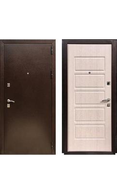 Входная дверь Оптима 2 Дуб выбеленный