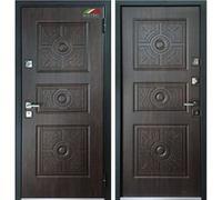 Cтальная дверь Мастино ТРЕНТО Дуб морёный