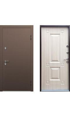 Входная дверь ТермоБУЛЬ-1 Белый Перламутр