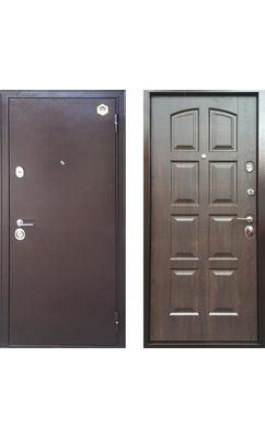 Входная дверь Бульдорс 24 new дуб шоколад F-3