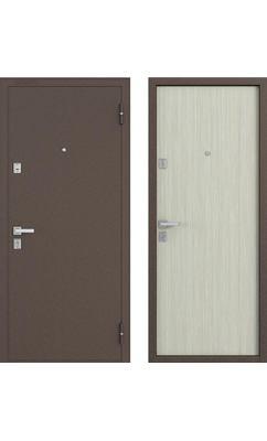Входная дверь Бульдорс 12 NEW дуб беленый
