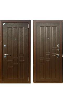 Входная дверь Зетта Комфорт 3 Д1 ТРИТОН венге