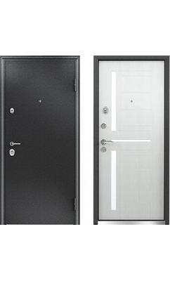 Входная дверь Бульдорс 24 new дуб беленый Е-2